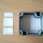 Test fit of elbeano pcbs within proposed enclosure