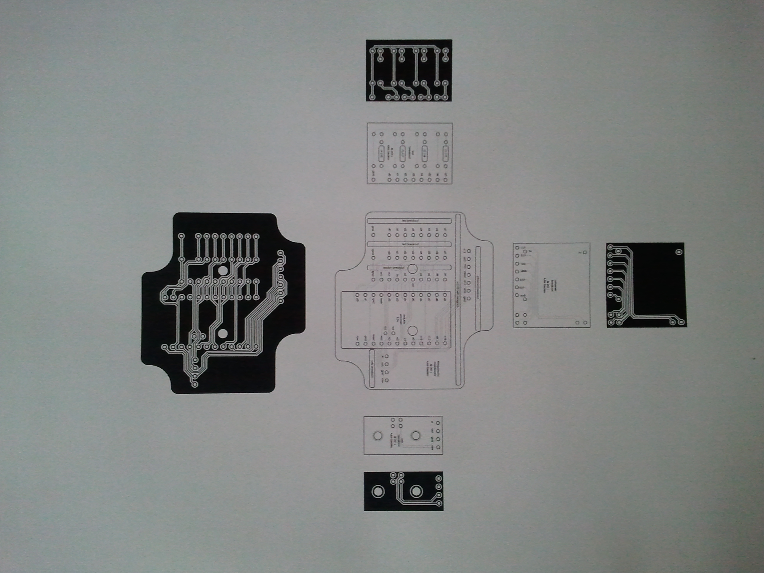 Early elbeano PCB design ready for transfer