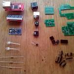 Full Elbeano parts awaiting assembly