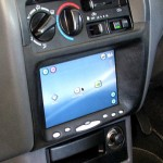 GiST Linux shown on a Car PC